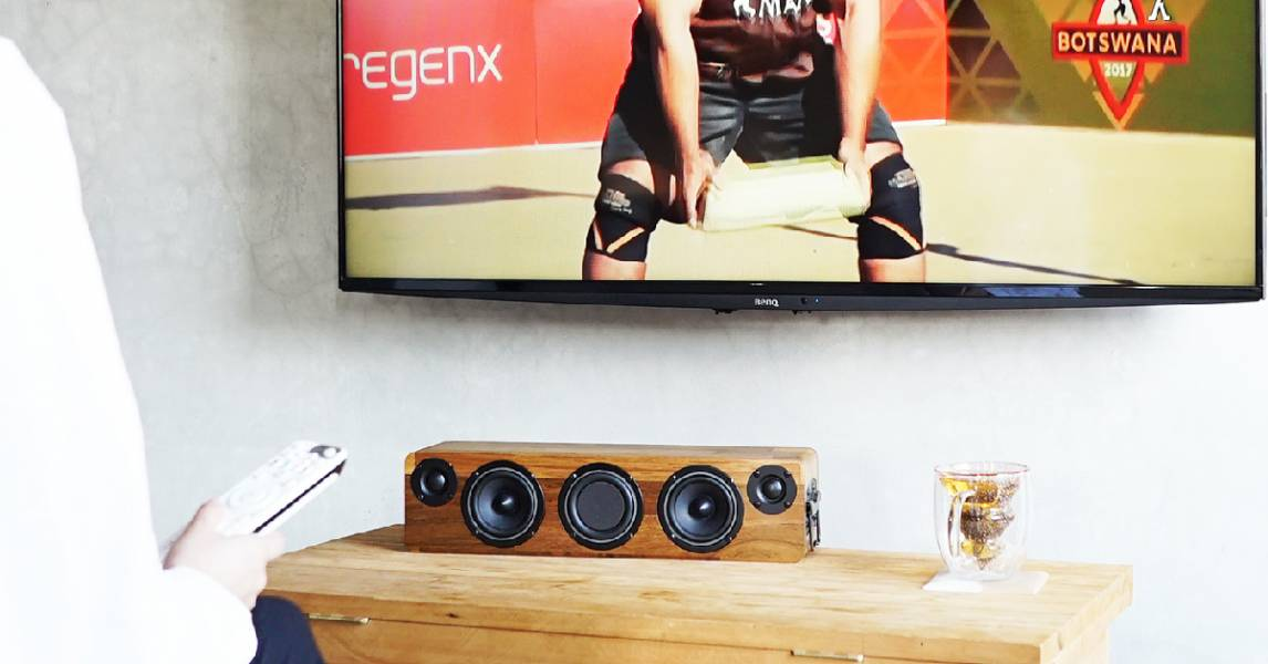 MIN628 手工實木藍牙音響 (插電版) - 柚木 / 胡桃木 / 白橡木 實木音響,minfort,手工音響,木頭音響,柚木音響,攜帶型音響