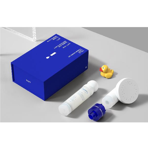 【 SHIFT|保濕香氛濾芯藍盒 】 香氛濾芯,濾芯蓮蓬頭,韓國香氛濾芯,沐浴濾芯,維他命濾芯