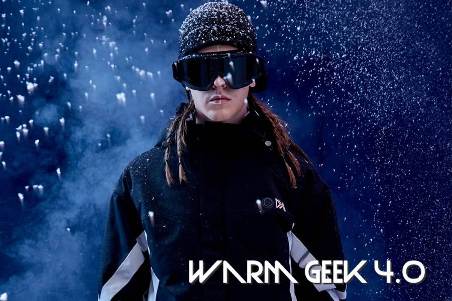 【 Warm Geek 4.0 主動式加熱外套 】三段加熱 X 防風防水,戶外走跳不畏寒!