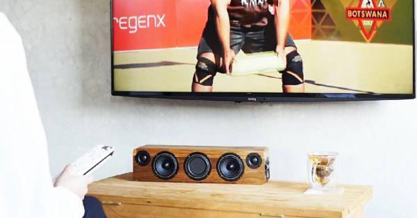 MIN628 手工實木藍牙音響 (蓄電版)  實木音響,minfort,手工音響,木頭音響,柚木音響,攜帶型音響