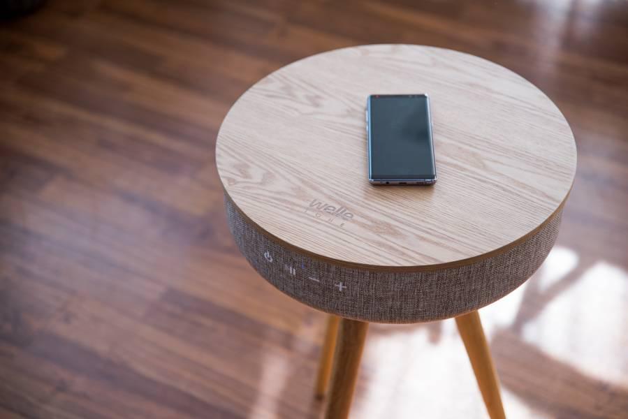 Mellow W501T|360度無指向藍牙木桌音響 (整新品) WELLE,木桌音響,木桌喇叭,藍牙喇叭