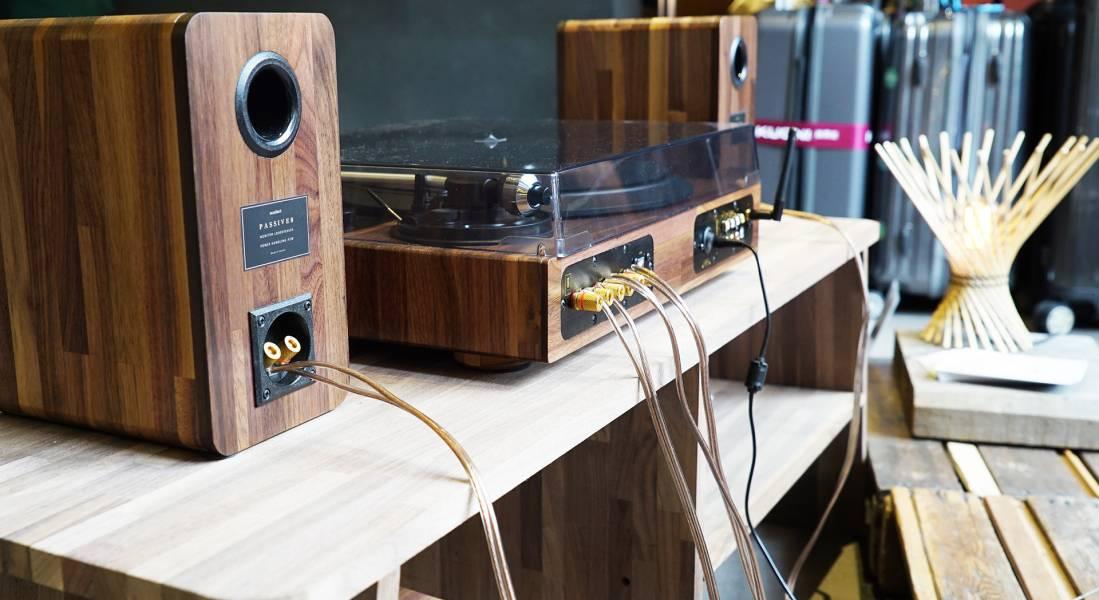 TT8 四件組黑膠音響 展示品(林先生訂單)