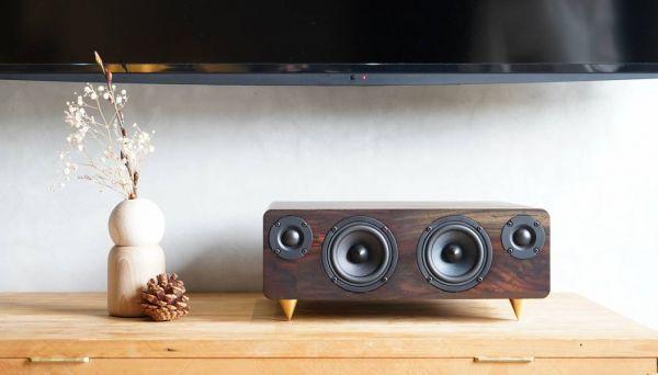 MIN660 實木藍牙音響(外觀微瑕疵) 實木音響,minfort,藍芽音響,木頭音響,柚木音響,手工音響,min660