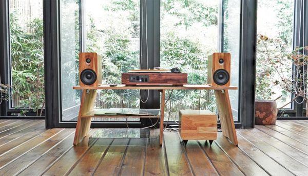 TT8實木黑膠音響四件組 (展示出清品) 黑膠機,黑膠唱盤,黑膠組合,實木黑膠音響,木質黑膠機,Minfort
