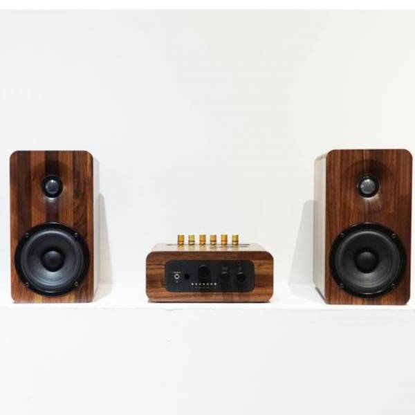 AMP7 多功能實木音響組合 (四件組) (限量2組)