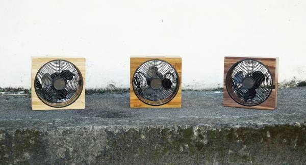 沐風 - 台灣手工實木電風扇(無腳架款)(6折出清) 木質風扇,木頭風扇,質感風扇,手工風扇